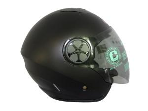雙鏡片半罩大頭帽CA-313(L)