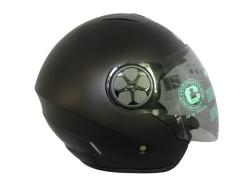 雙鏡片半罩大頭帽CA-313(XL)